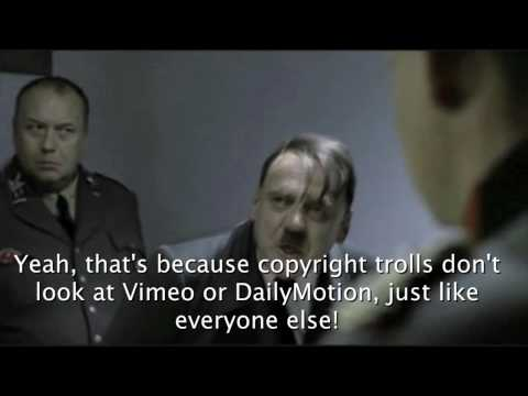 Hitler objects to hitler parodies being removed