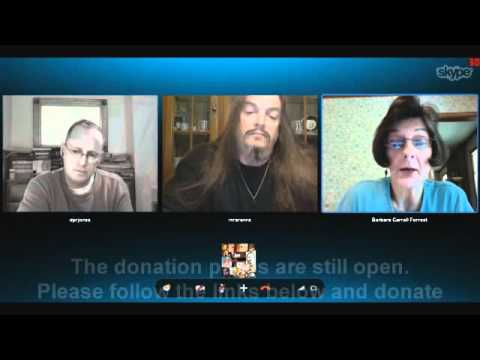 Eugenie Scott, Barbara Forrest, Aronra on the MSF/Doctors without Borders charity show