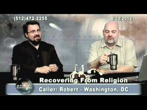 """Jerry Dewitt of """"Recovering from Religion"""" and The Atheist Experience join forces for Episode 764!"""