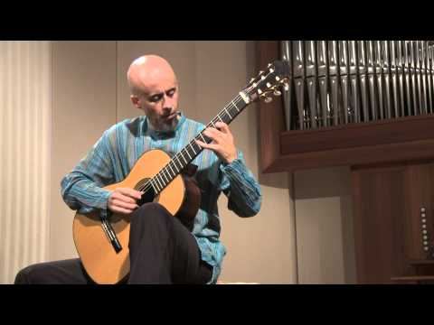 Presentación Fred Carrilho - España