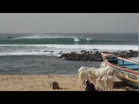 thefreesurfer.com shows you the surf in Dakar, Senegal