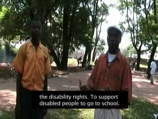 Listening (Liberia) - Leonard Cheshire Disability Young Voices