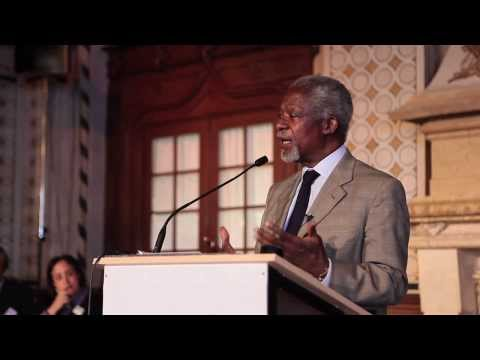 Kofi Annan On Youth Leadership