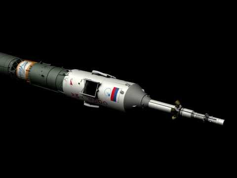 Soyuz Rocket Mesh in 1080p HD