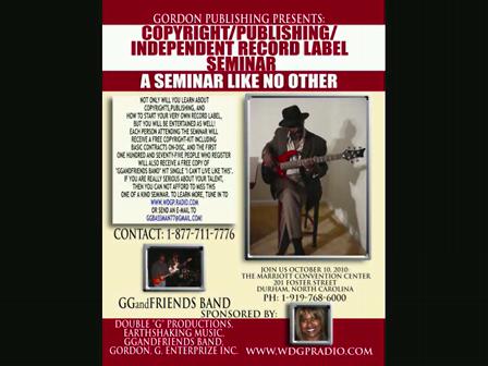 Gordon Publishing Seminar