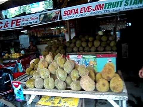 Davao City Durian market
