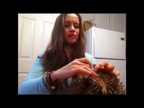Raw vegan chick eats a whole durian!