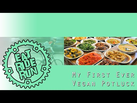 MY FIRST EVER VEGAN POTLUCK