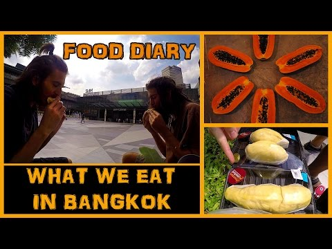 WHAT WE ATE IN BANGKOK ON A LOW FAT HIGH CARB RAW VEGAN DIET