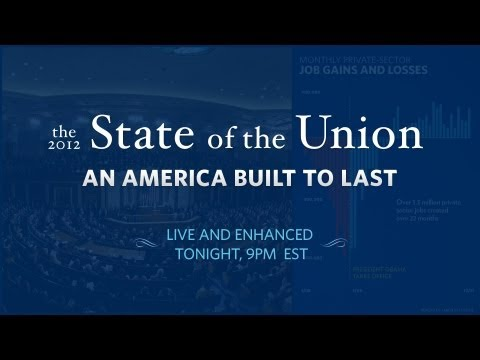 President Obama Presents 2012 State of the Union/Enhanced
