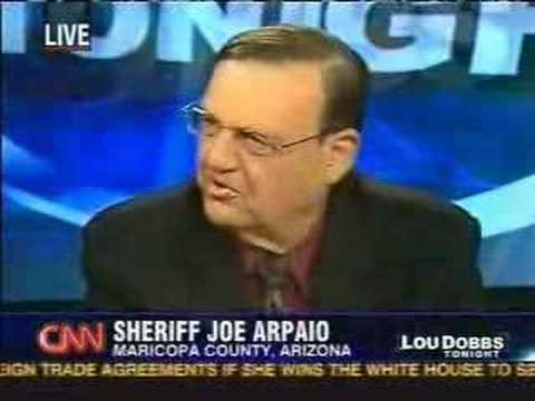 Sheriff Joe Arpaio says it's an HONOR to be compared to KKK