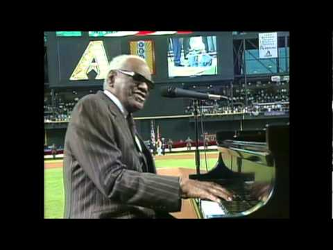 ★ Ray Charles ★ America the Beautiful ★ 2001 World Series ★