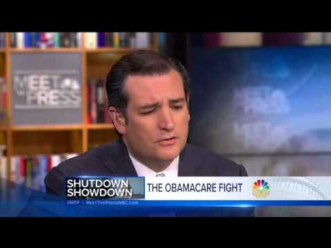 EXCELLENT! Ted Cruz GRILLED On Meet The Press. 'You Haven't Moved Anybody'