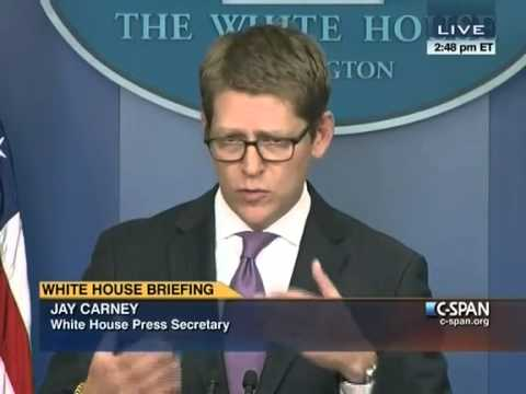 Jay Carney Accuses Fox News' James Rosen of 'Creating an Exchange for Fox' on Benghazi
