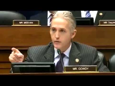 Trey Gowdy on Fire over IRS Targeting