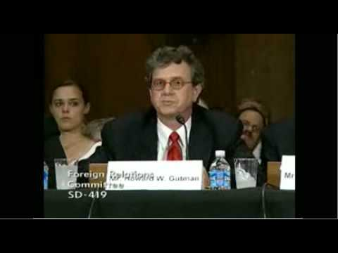 Howard Gutman Senate Confirmation Hearing 07/16/09