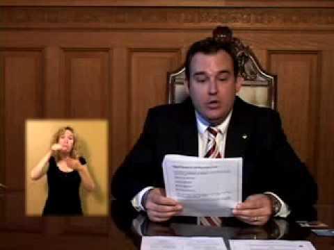 Election 2009 - Document video pour les électeurs ayant des limitations auditives