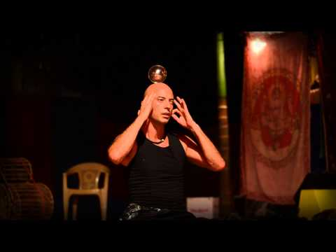 Illusionist Kristian Jyoti: Levitation, Yoga, Crystal Ball Contact Juggling & Dance by Jiva