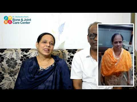 How Knee Replacement Surgery Changed her life - Review after 1 Year of by Mrs. Meher Jahan Qazi