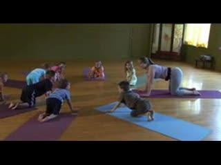 Blue Skies Yoga Kids' Class