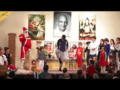 Yoga Vidya Weihnachtsfeier vom 24.12.2017