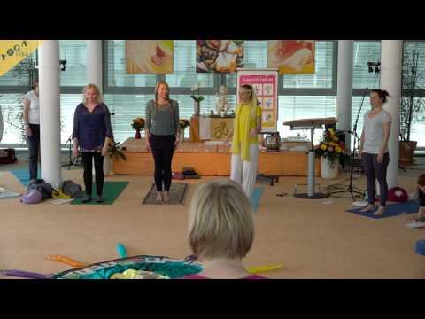 Kinderyogakongress - Workshop: Sonnengruß und Sonnenpower mit Sibylle Schöppel