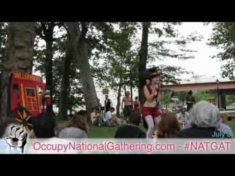 Wells Fargo a Financial Circus - Occupy National Gathering, Day 4