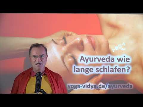 Ayurveda - wie lange schlafen? (2) - Frage an Sukadev