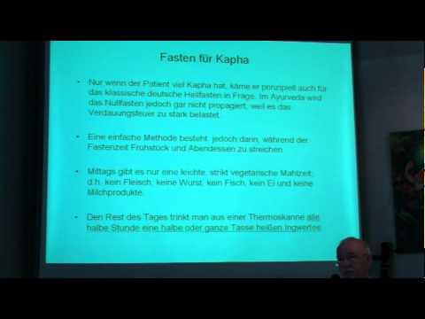 Typgerechtes Fasten im Ayurveda - Vortrag von Mathias Kossatz