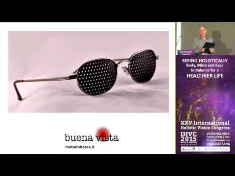 Gafas reticulares para mejorar la vista.