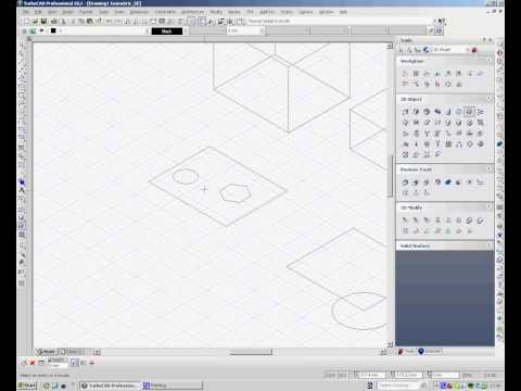 TurboCAD 3D from 2D Profiles