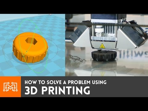 3D Printing to solve a problem // How-To