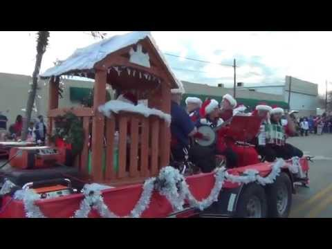 MECATX  musicians in the Killeen, Texas Christmas parade