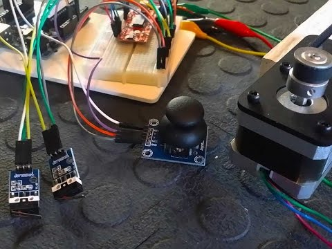 Control a Stepper Motor using an Arduino, Joystick, Easy Driver and Limit Switches - Tutorial