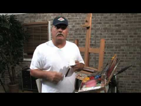 Free Art Lesson - Mike Rooney - Plein Air Tips