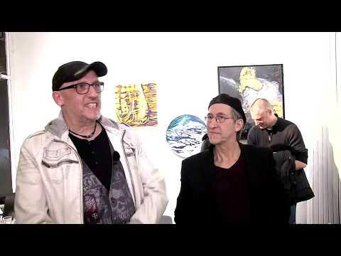"""Crossartausstellung """"Dialoge"""" in der Galerie Hartung/Köln"""