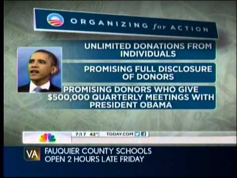NBC's Chuck Todd: On Campaign Finance, Obama's Words Rarely Match His Actions
