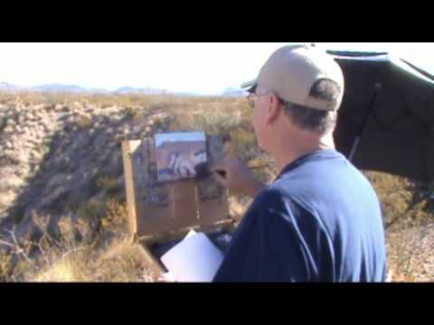 The Outdoor Painters Society paints Big Bend National Park
