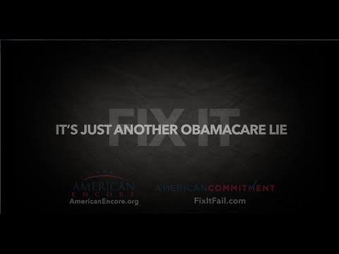 #FixItFail: Just Another Obamacare Lie