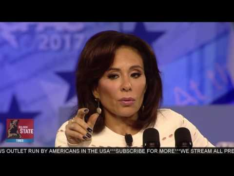 AMAZING:Judge Jeanine Pirro Speaks at CPAC 2017