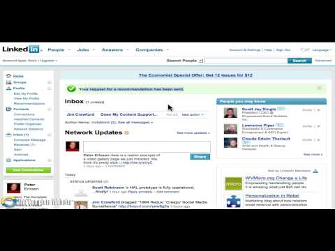 How to create and leverage testimonials using LinkedIn