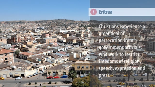 World Watch List 2018: (#6) Eritrea