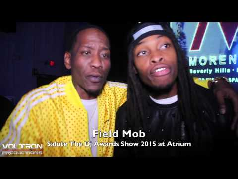 Field Mob at Salute The Dj's Award Show 2015