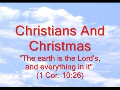 Christians And Christmas