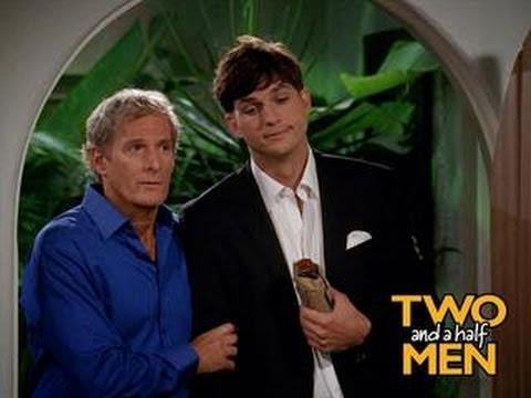 """Michael in """"Two And A Half Men"""" aired 27th September, 2012"""