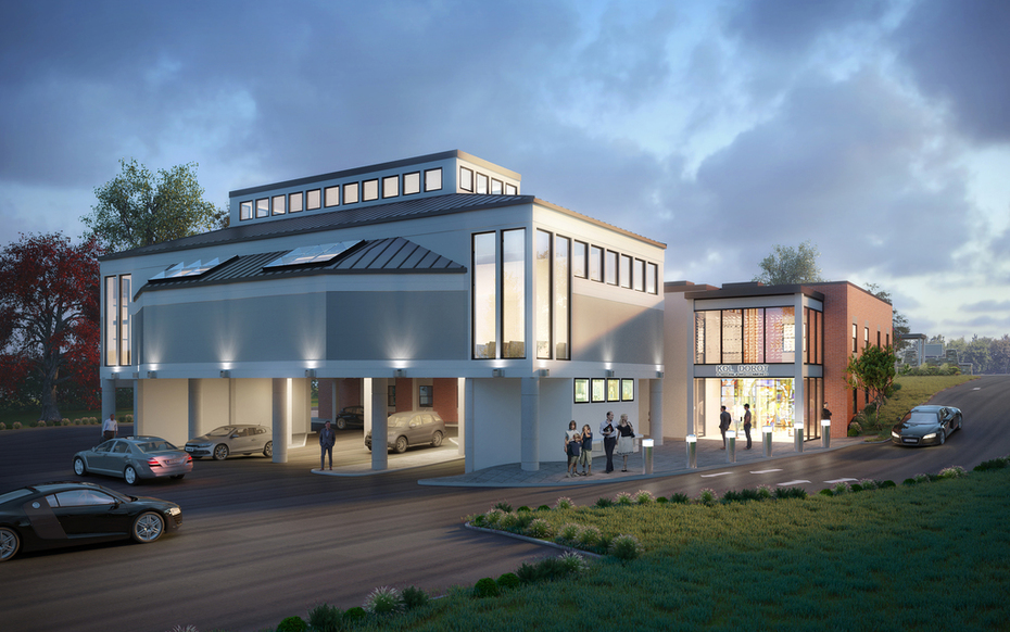 Latest Synagogue design by the Ives Architecture Studio