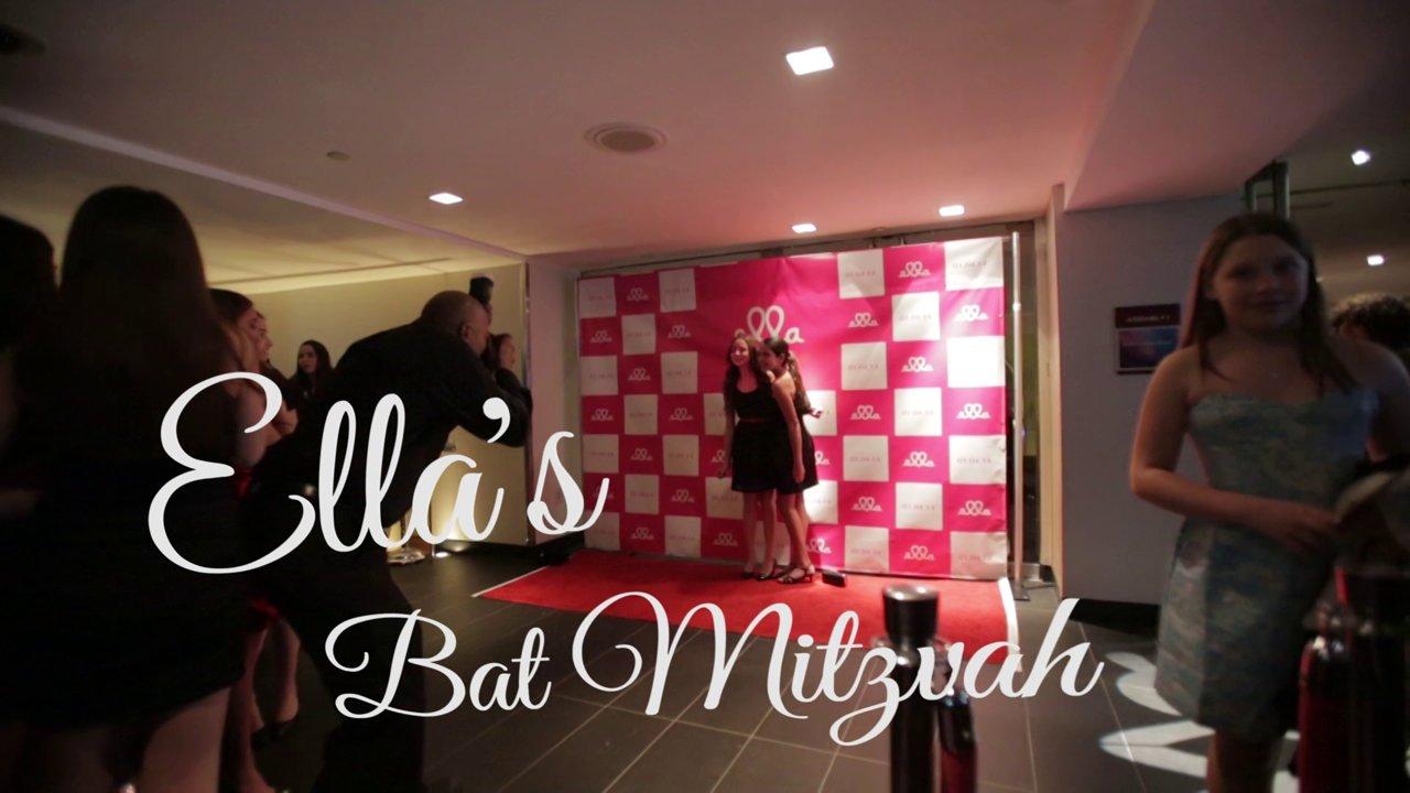 NY and NJ Bar Mitzvah DJ LSNY Events Celebrates with Ella