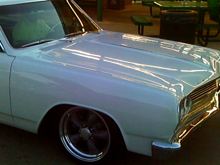 65 Chevy at Sonics in Loganville Ga. Sept. 30, 2011