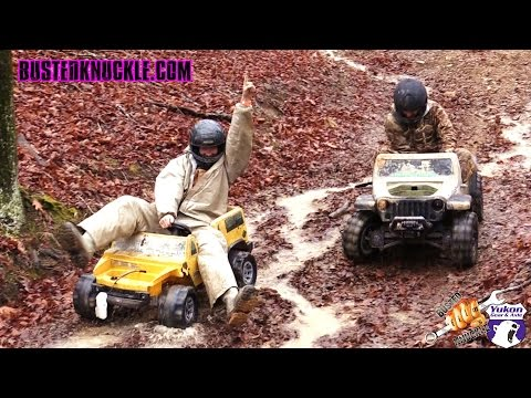 EXTREME BARBIE JEEP RACING 2015 BATTLEFEST