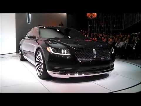 Lincoln Continental concept  short version 2015 New York International Auto Show